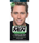 JUST FOR MEN - SHAMPOO IN HAIR COLOUR Colour: Light Brown H25