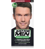 JUST FOR MEN - SHAMPOO IN HAIR COLOUR Colour: Medium Brown H35