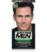 JUST FOR MEN - SHAMPOO IN HAIR COLOUR Colour: Real Black H55