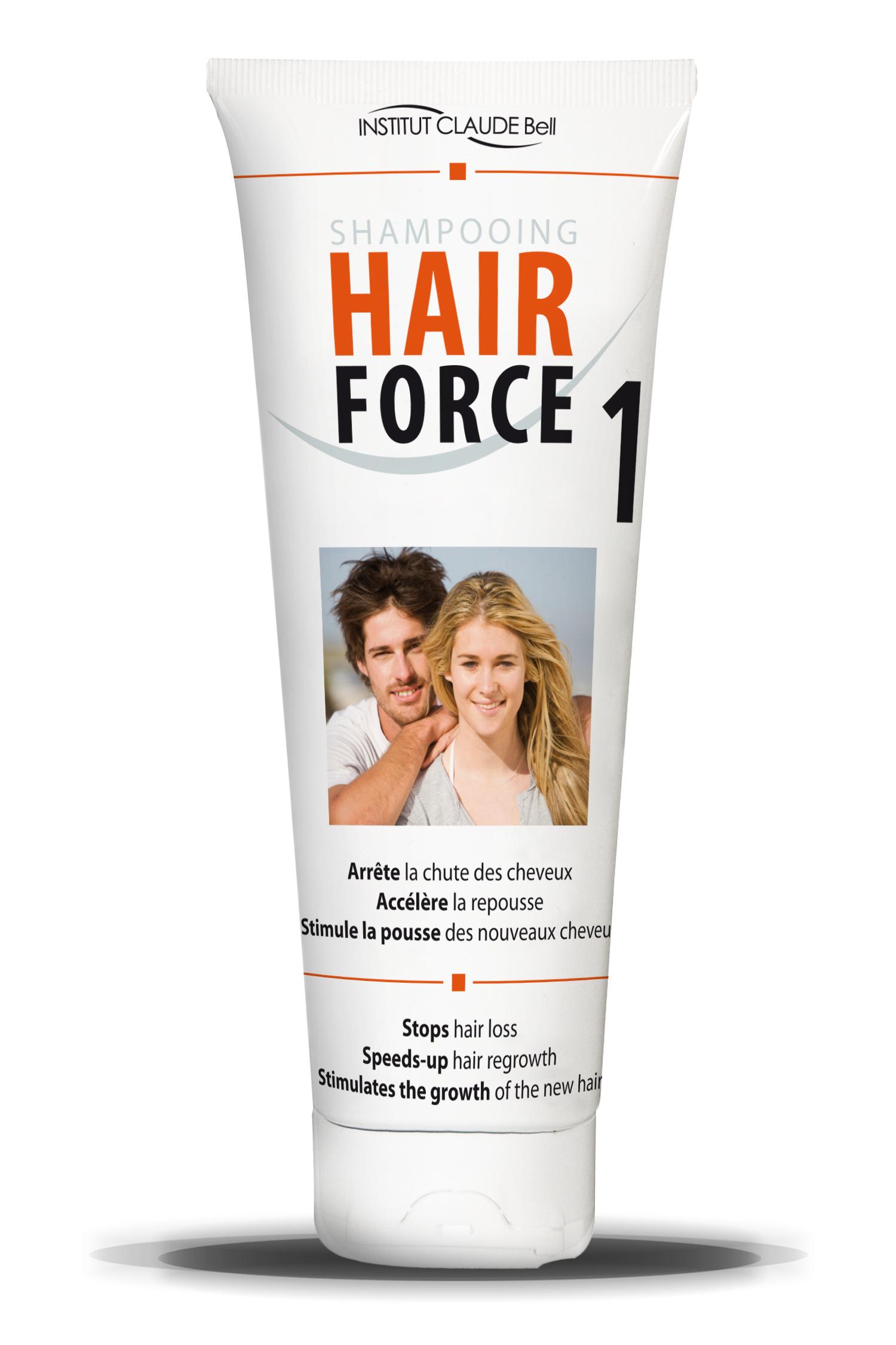hair force one shampoo f r schnelleres haarwachstum 250. Black Bedroom Furniture Sets. Home Design Ideas