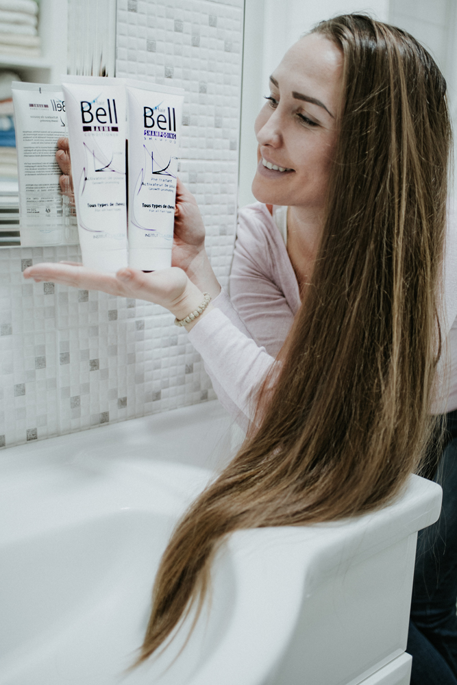 Haarwachstum cm