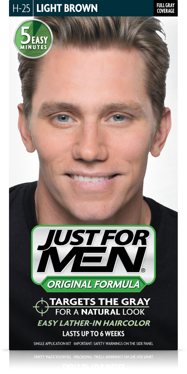 Just For Men Shampoo In Hair Colour Colour Light Brown H25 From